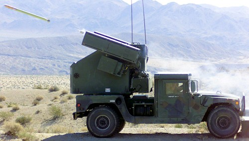Stinger Missile Avenger Air Defense System